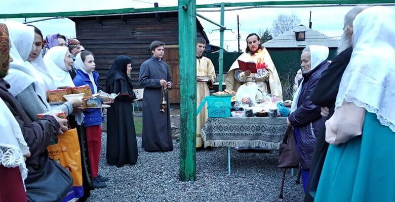 pervaja pashalnaja sluzhba s liturgiej v g kyzyl