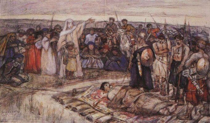 Olga vstrechaet telo
