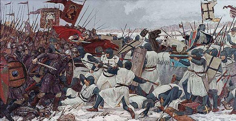 aleksandr nevskiy bitva