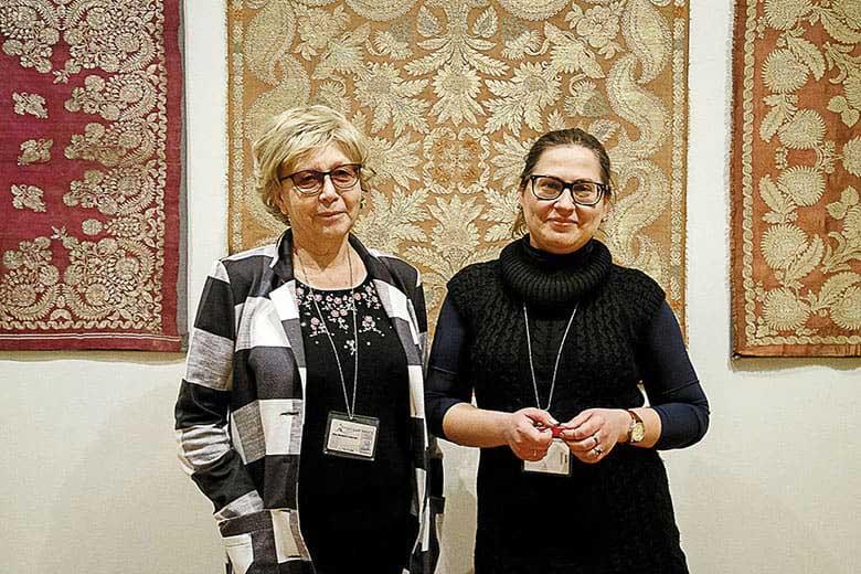 Кураторы выставки Марина Сорокина и Наталия Ковалева