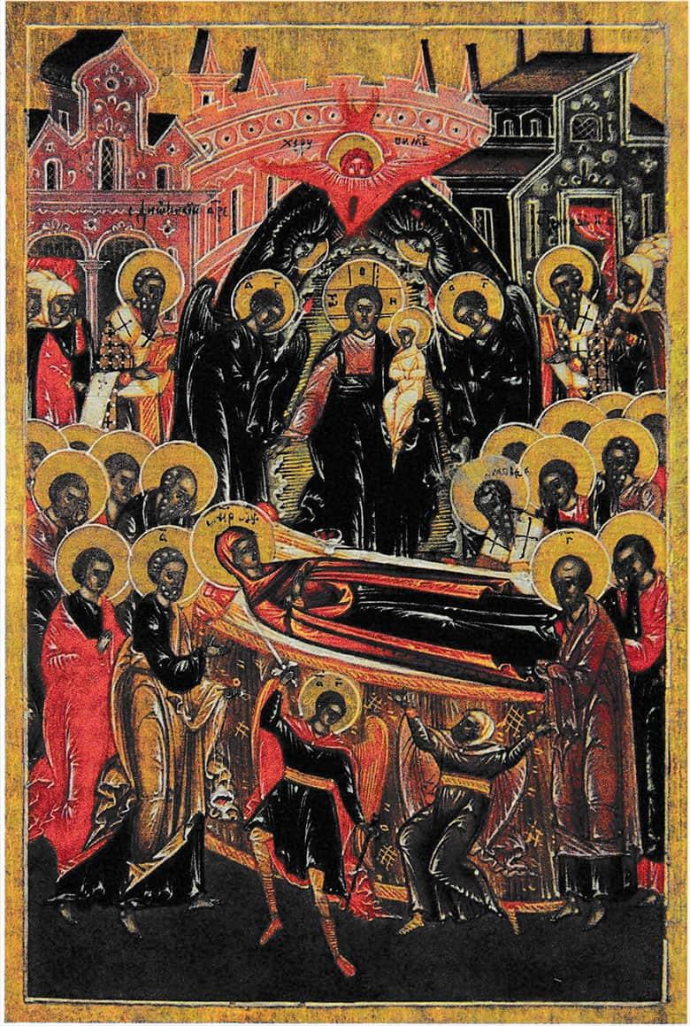Успение Пресвятыя Владычицы нашея Богородицы.