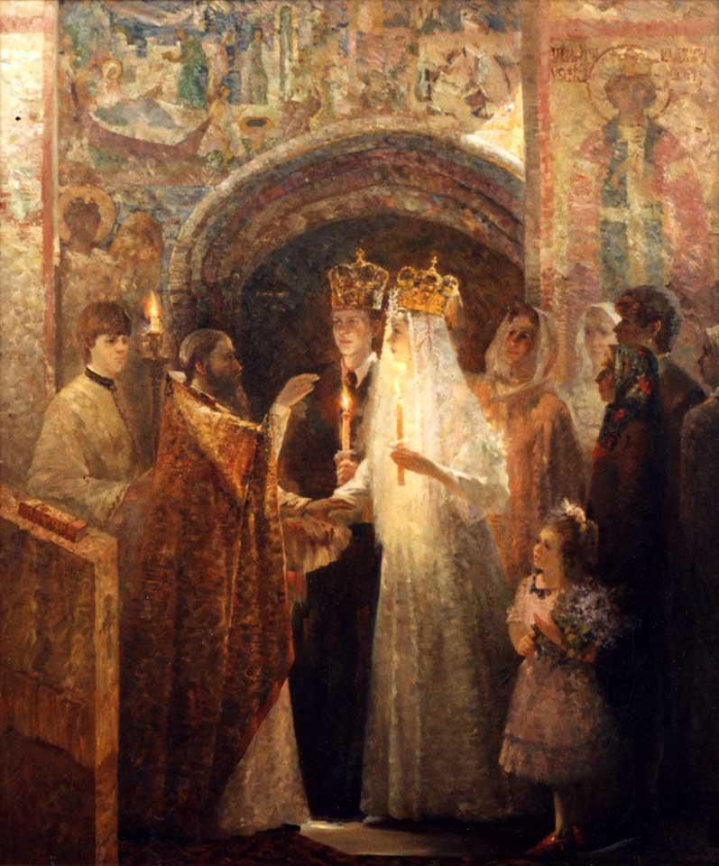 Венчание. К свету Божьему. свадьбах