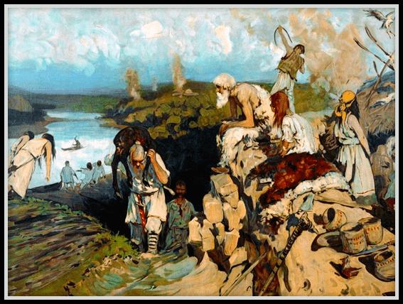 Великая славянская миграция, Древние жители
