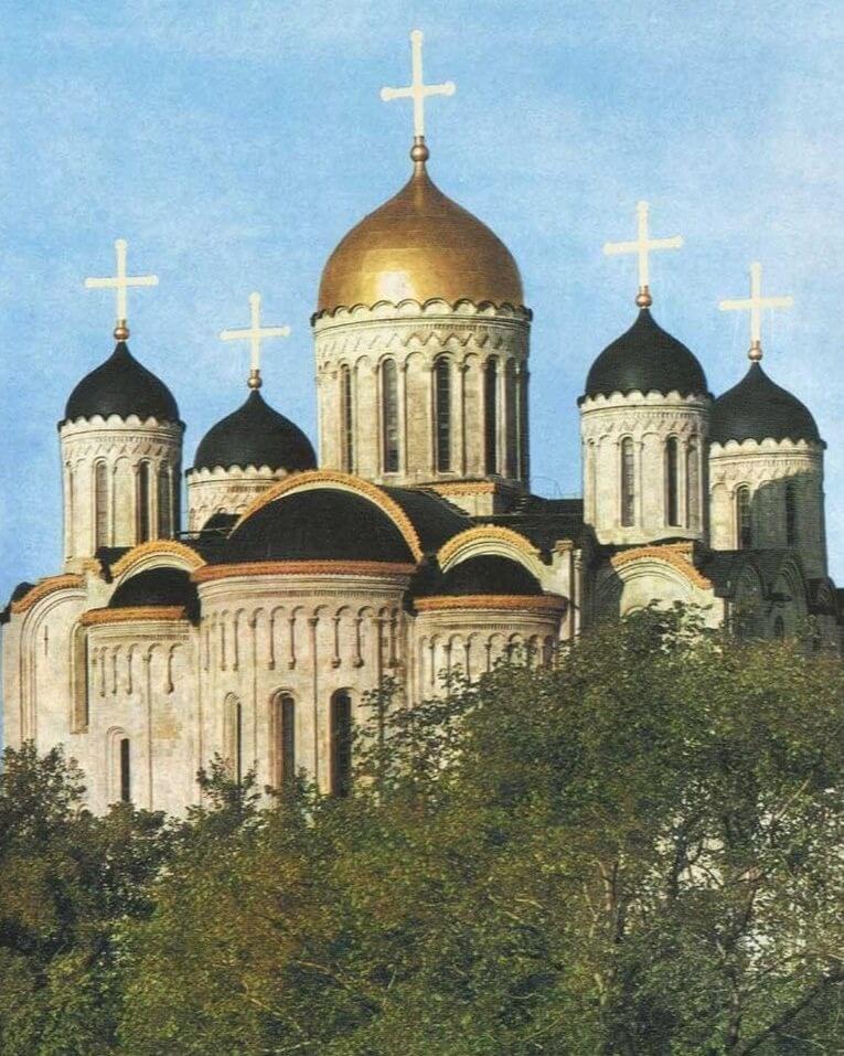 Свято-Успенский кафедральный собор. 1185. Владимир.