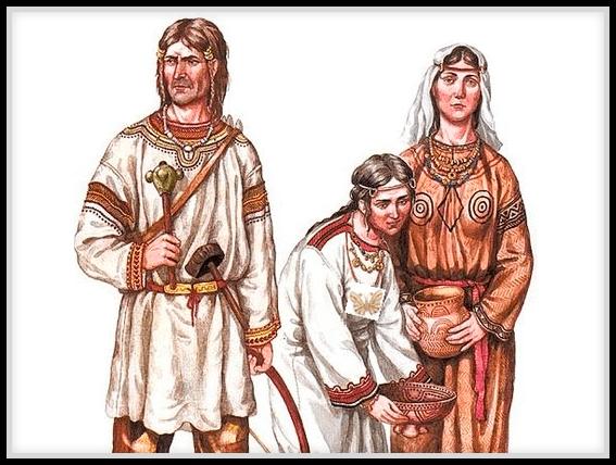 Какие славянские племена жили в России. Древние жители