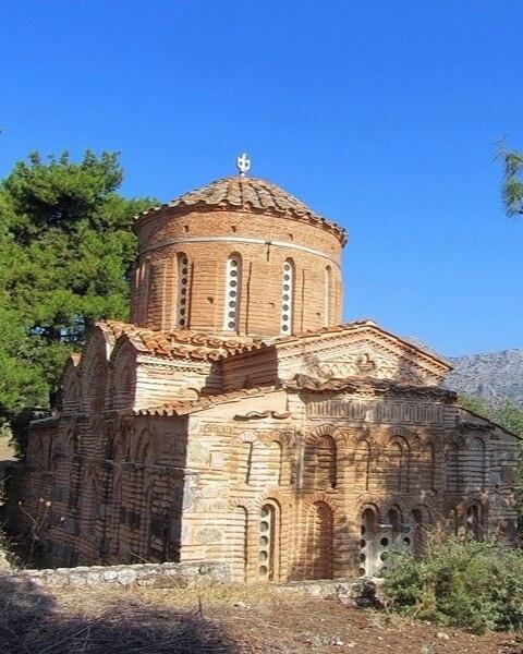 Православный монастырь Неа-Мони. Остров Хиос, Греция. 1042–1056.