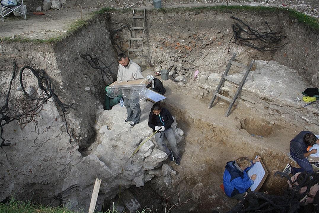 За четырнадцать лет эрмитажная экспедиция исследовала около тысячи квадратных метров.