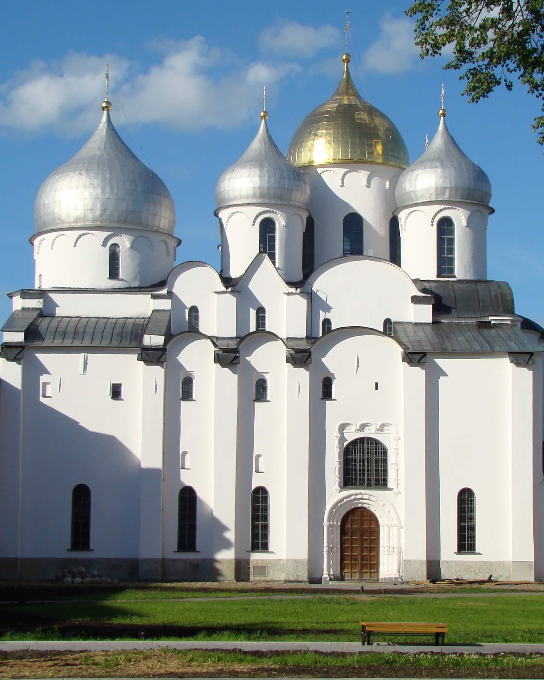 Софийский кафедральный собор. 1045–1050. Великий Новгород.