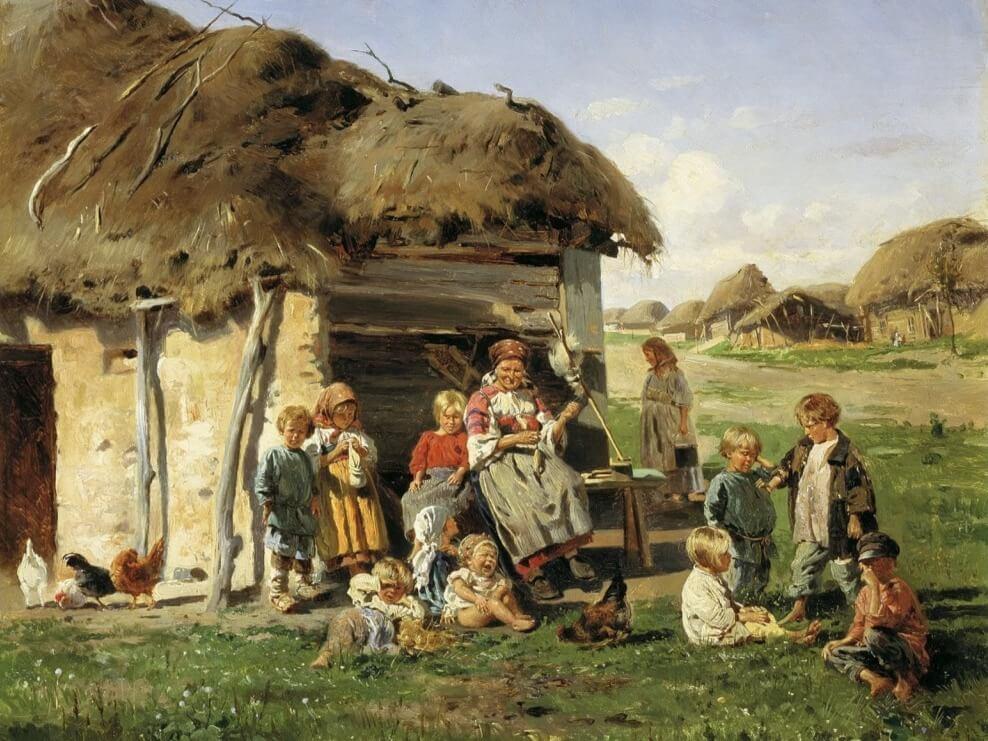 Домострой, Семья, Жена, Дети 6