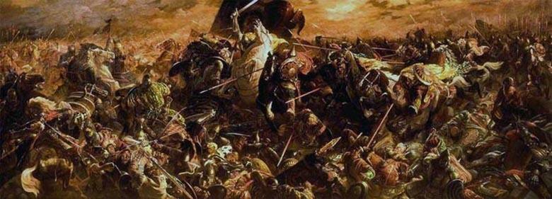 Картина. Куликовская битва