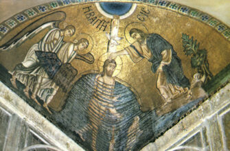 крещения, православное, трепогружательного, воскресение, святого