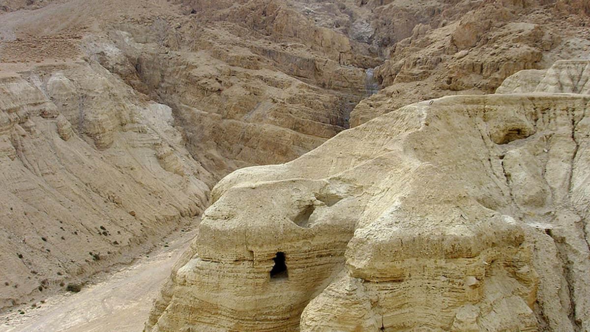 пещера Иудейской пустыни, в местности Вади Кумран