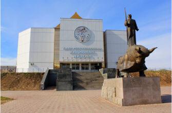 Экскурсия по национальному музею Кызыла