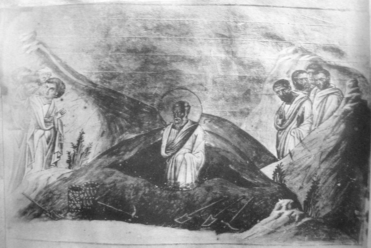 Преставление апостола