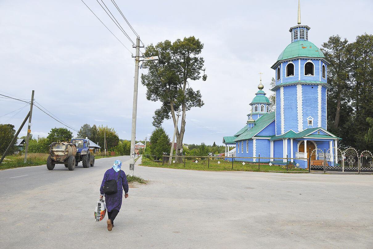 Церковь Владимирской Богоматери в селе Владимирском