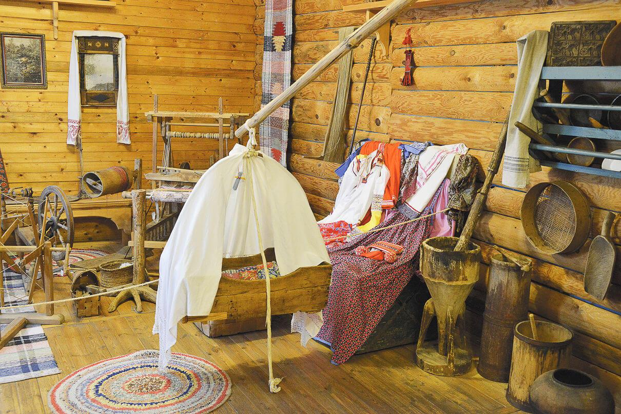 В селе Владимирском несколько музеев, так или иначе имеющих отношение к китежской теме