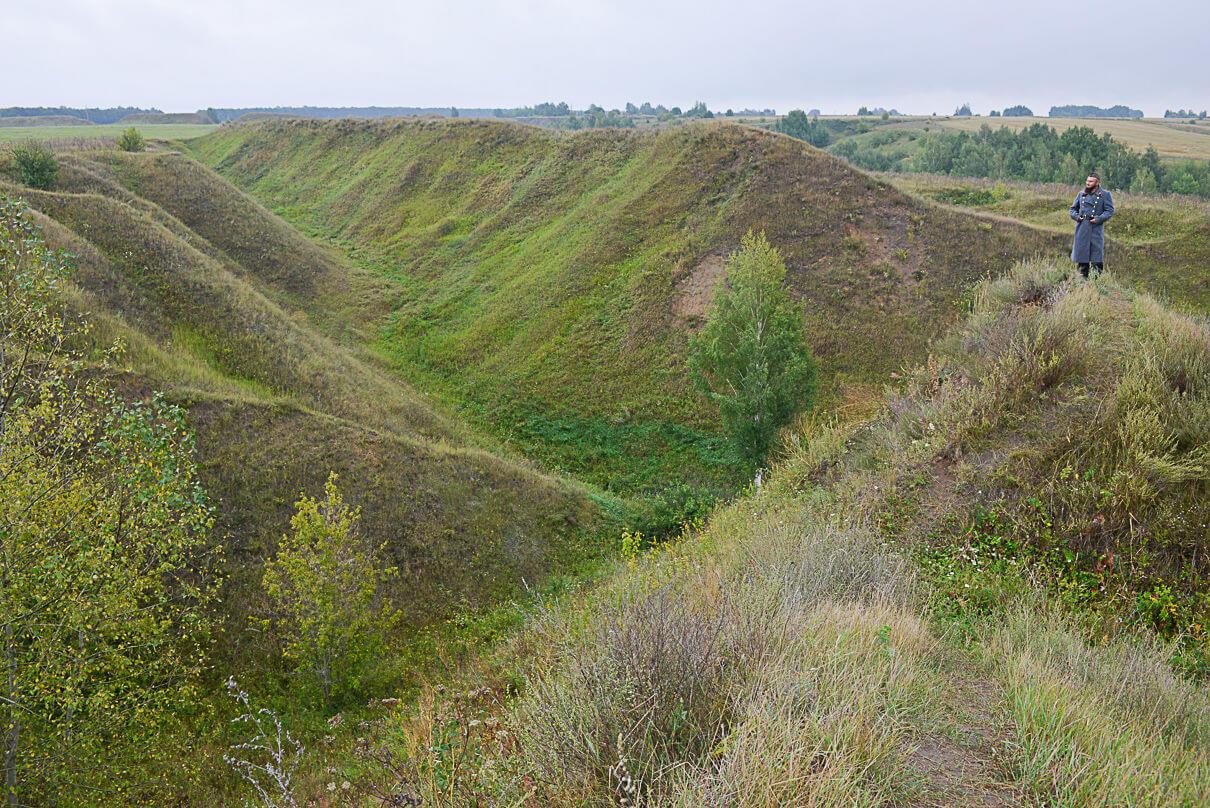 Что видели эти холмы в далеком прошлом, мы можем лишь предполагать