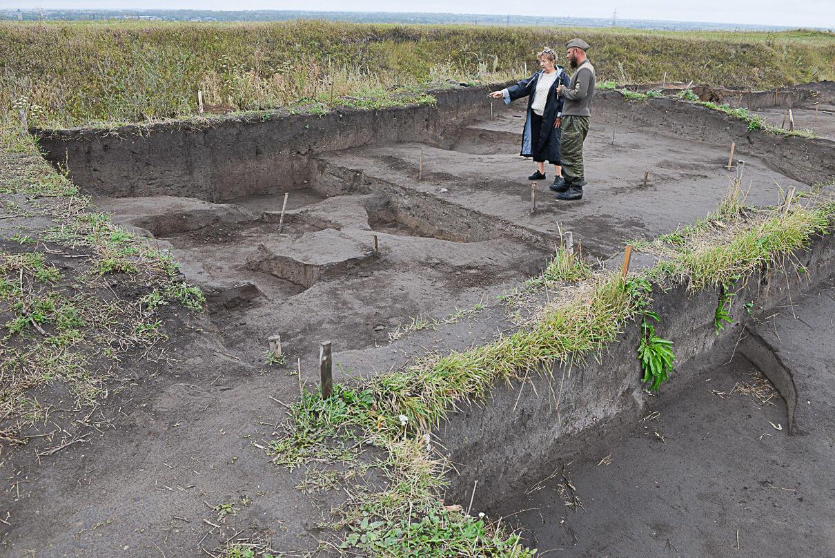 Погода летом 2019 года была не слишком милостива к археологам, но работы на раскопах все равно продолжались