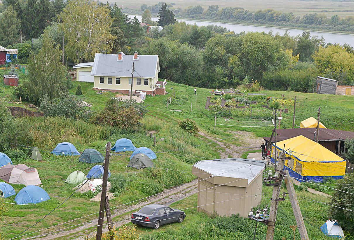Современная Старая Рязань — это небольшое село.