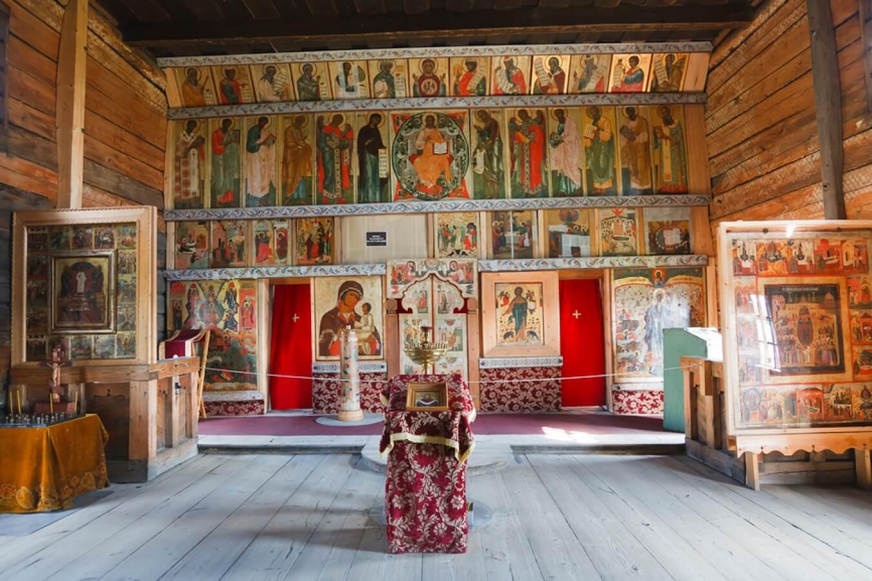 Храм, Преображения Господня, Музей, деревянного зодчества_5