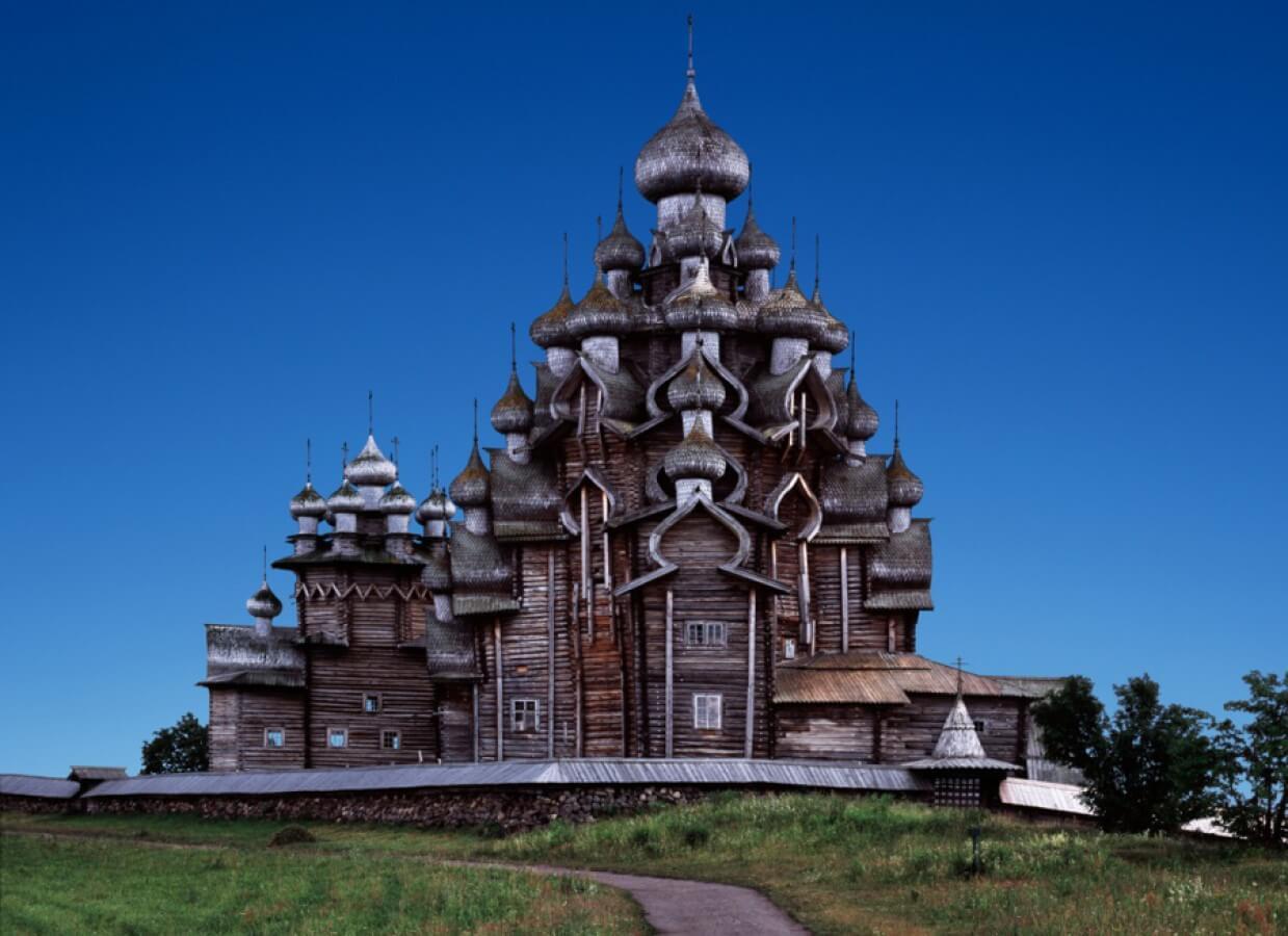 Кижи. Храм Преображения Господня