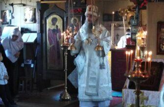 Архиерейская литургия и вечернее богослужение 17