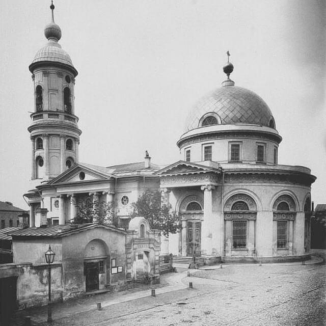 Храм Преображения, на Ордынке
