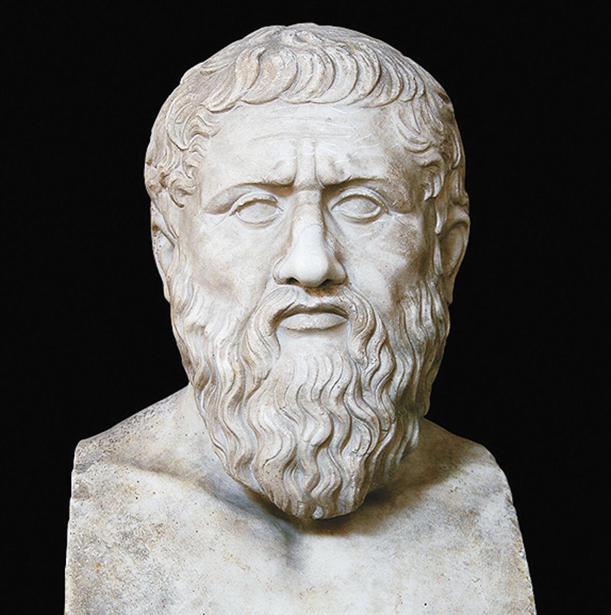 Платон. Римская копия с греческой статуи последней четверти IV века до н.э.