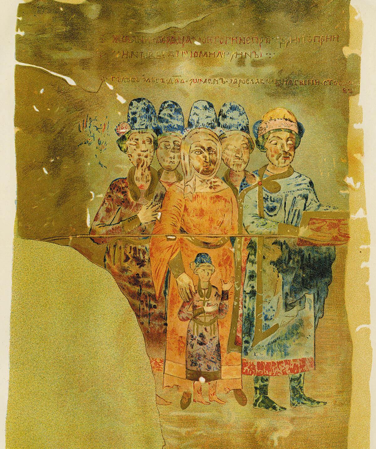 Изборник Святослава 1073 года. Миниатюра