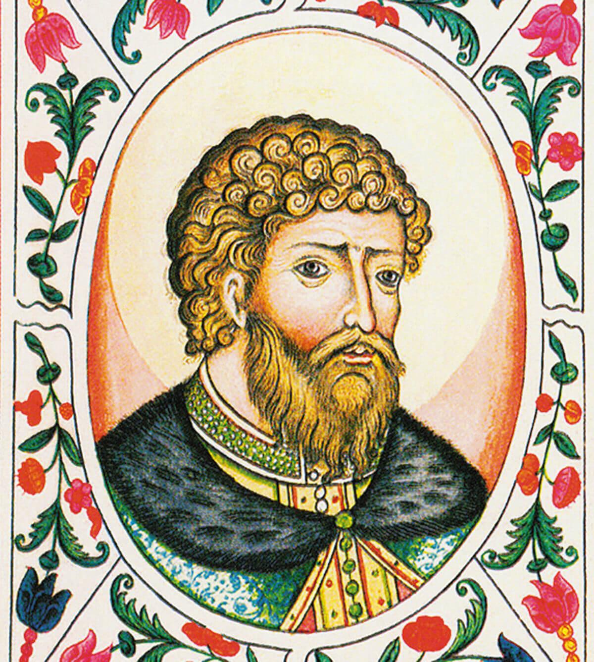 Великий князь Киевский Ярослав Мудрый. Из