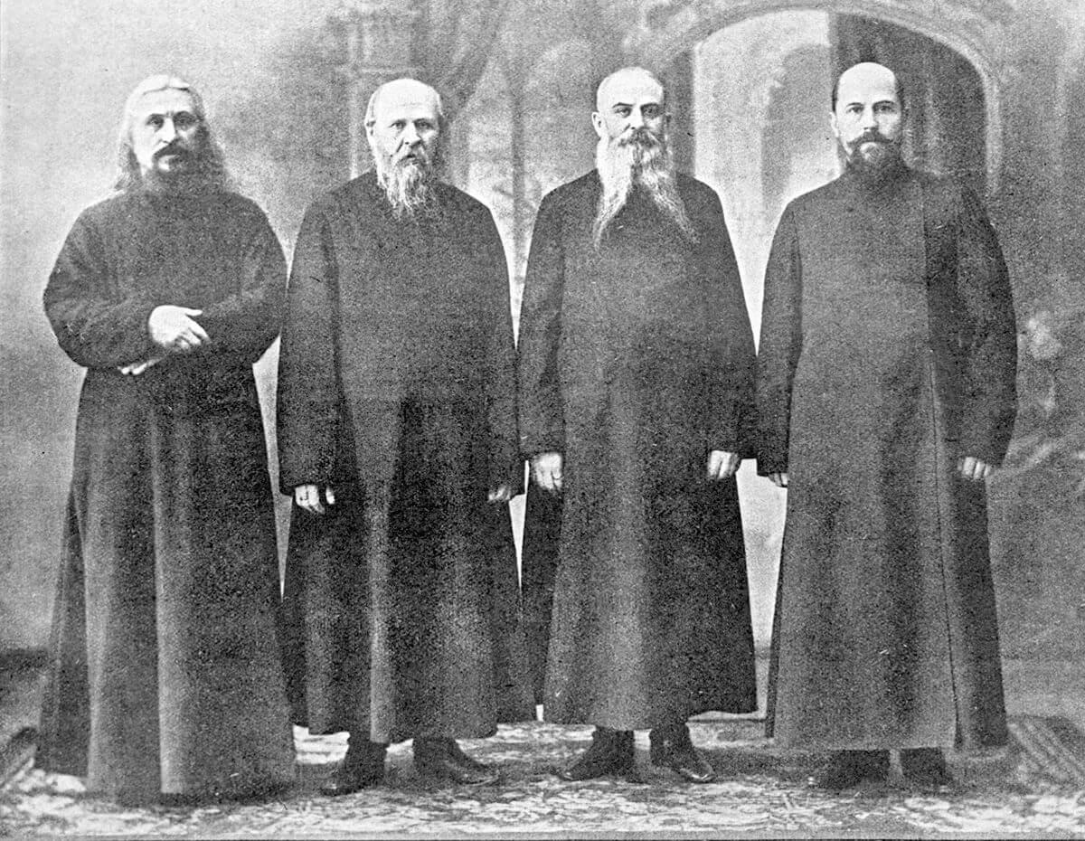 Депутация московских старообрядцев, приемлющих священство Белокриницкой иерархии, представлявшаяся 12 января 1908 года государю императору