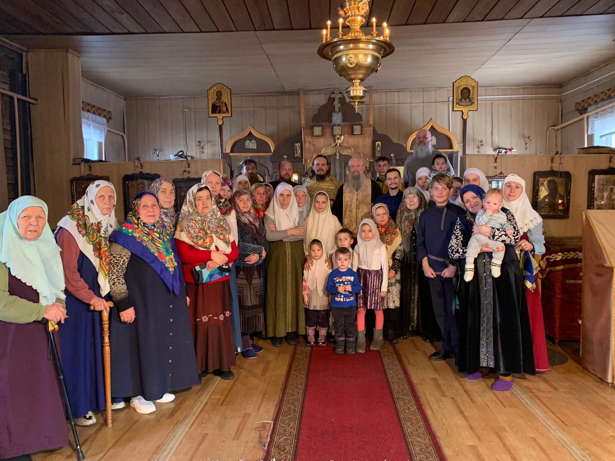 Приезд иерея Леонтия 13-15 декабря