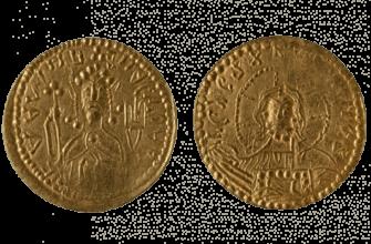 Кто изображён на первой русской монете?