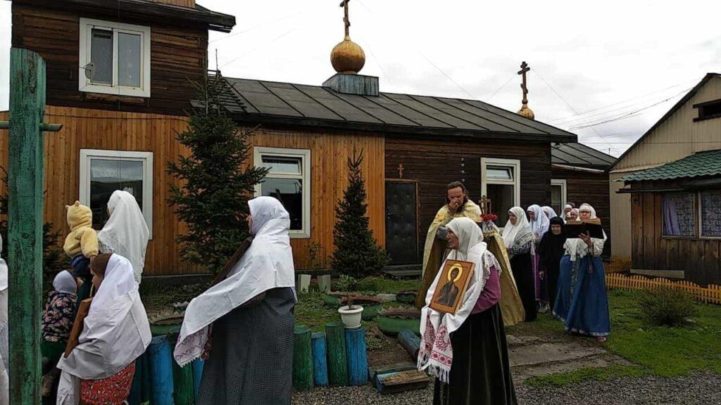 Престольный в Кызыле 2020