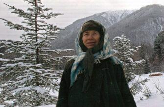 Агафья Лыкова зимой