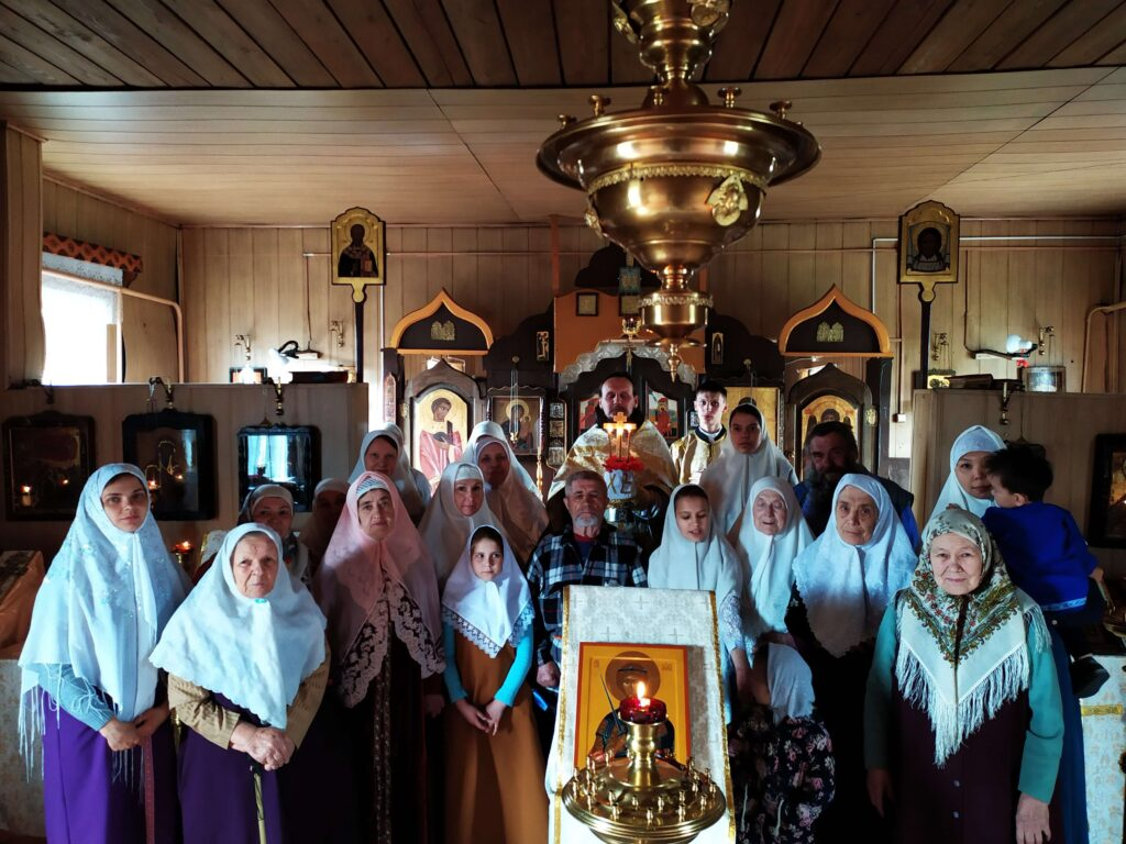 Престольный Праздник в Кызыле