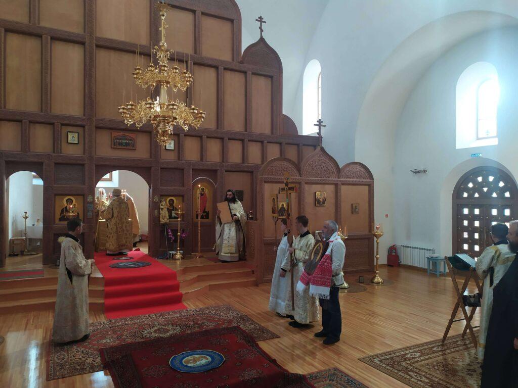 Освящение храма в Красноярске