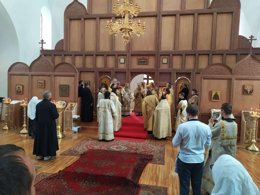 освящение церкви во имя Сретения Владимирская чудотворный иконы Пресвятыя Богородицы