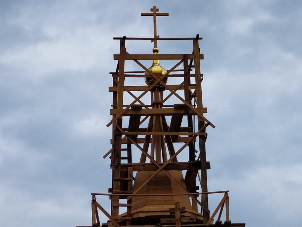 Реконструкция храма