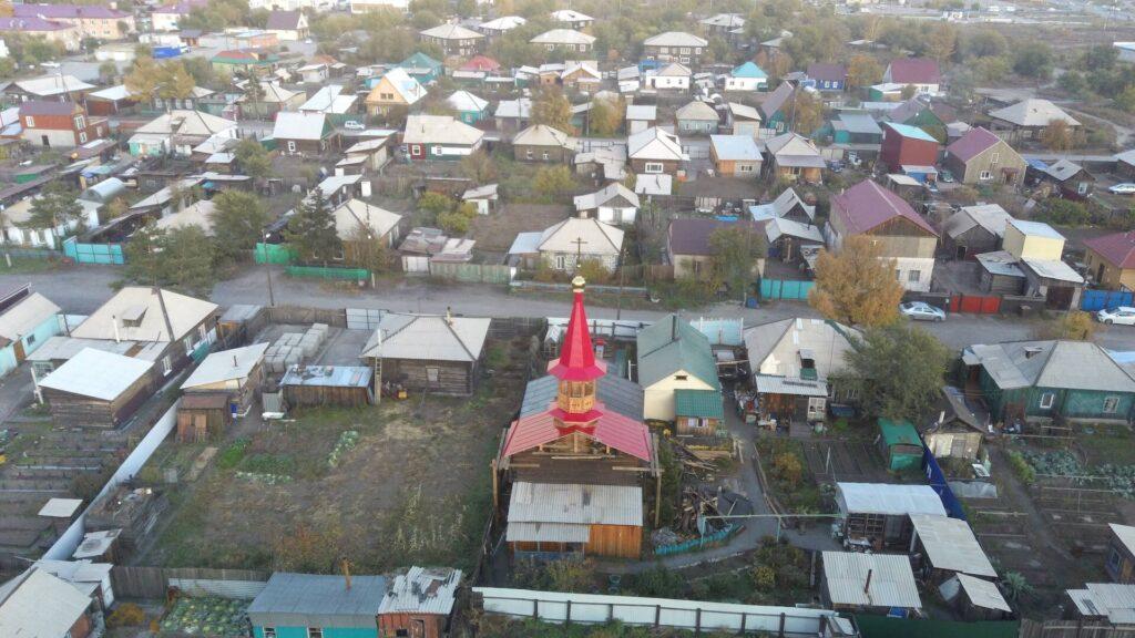 Реконструкция храма в Кызыле