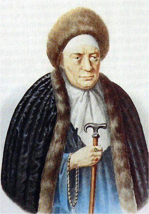 инокиня Марфа, жена Филорета (Фёдора) Романова