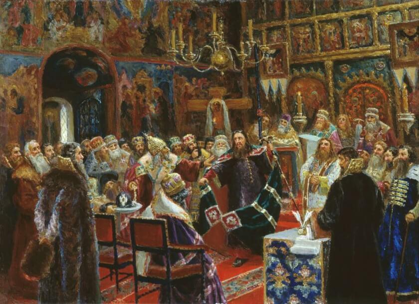 суд над патриархом Никоном